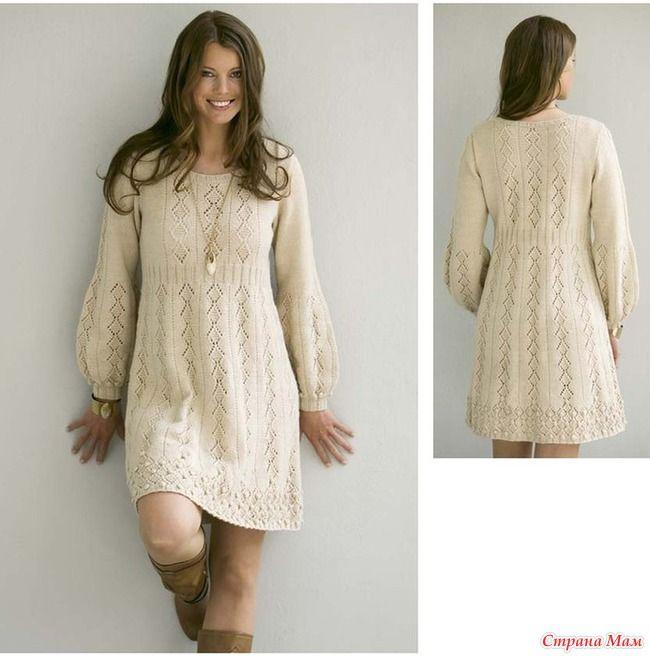Такое вот милое платье встретилось. не могла устоять, чтобы не захомячить.  Вяжут онлайн в теме на осинке  http://club.osinka.ru/