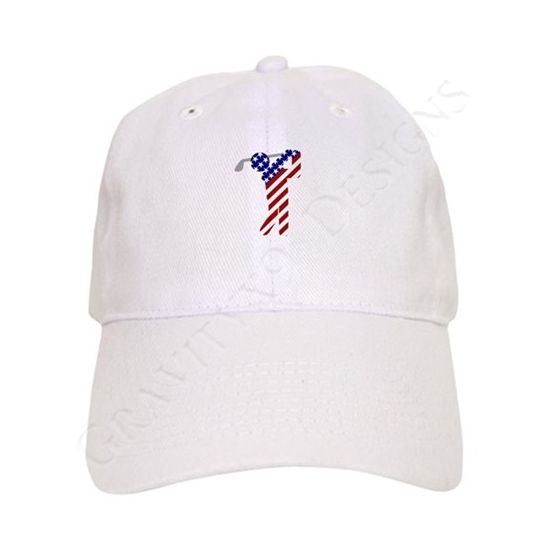 USA Mens Golf Baseball Cap at  Cafepress  sports4you  Gravityx9   trucker  style 12c41880ef51