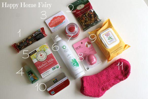 mommy survival kit gift idea