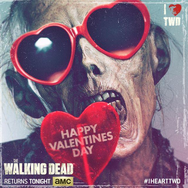 free zombie valentine's day cards