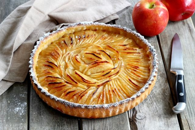 Comment préparer une délicieuse tarte aux pommes ? - Diaporama 750 grammes