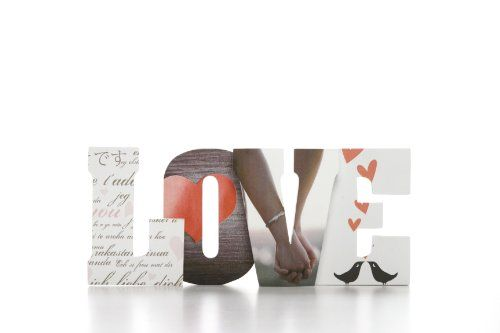Table decor international inc photograph 11 8 long love w for Decor international inc