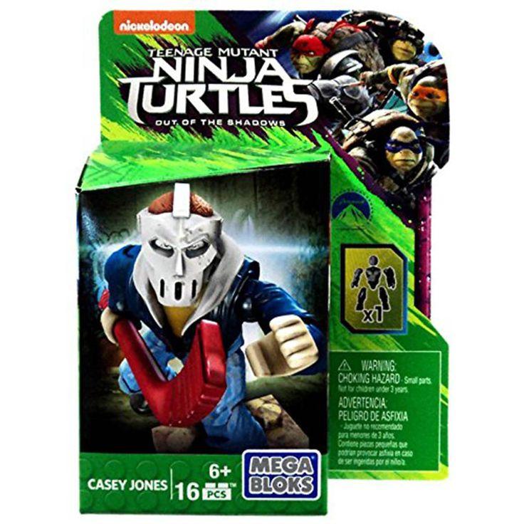 Mega Bloks Teenage Mutant Ninja Turtles Casey Jones Figure