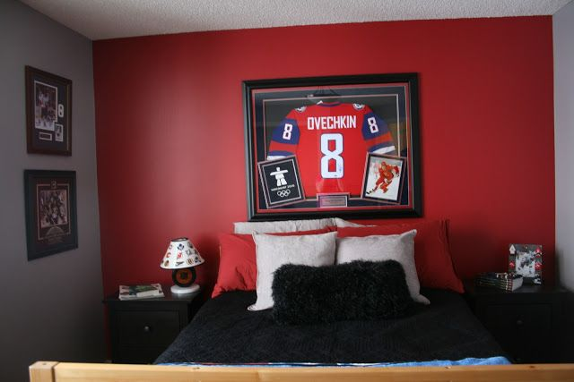 Echoes of Laughter: A Boy's Room Makeover That Scores The Goal...