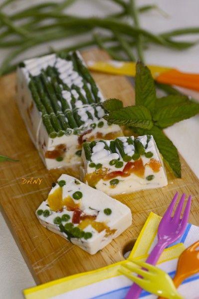 PANNA COTTA AUX HARICOTS VERTS ET AUX 3 TOMATES - Le blog de epicétout, la cuisine de dany