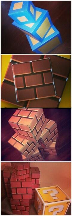 Super Mario Party- Brick Blocks