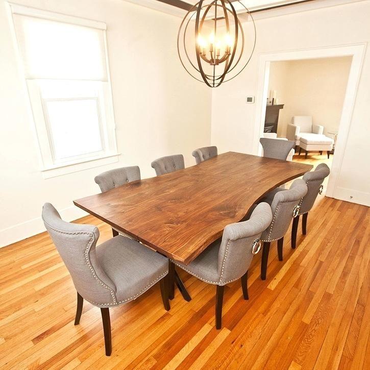 Contemporary Dining Room Furniture Toronto Live Edge Dining