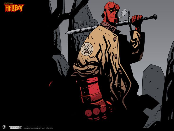 Hellboy Sourcebook and Roleplaying Game