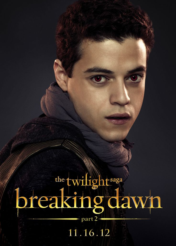 Rami Malek as Benjamin of the Egyptian coven YOU DONT EVEN KNOW!