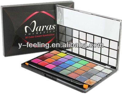 Profeddion 32 cores Shimmer e matte maquiagem Gel sombra paleta de maquiagem Gel creme com escova alishoppbrasil