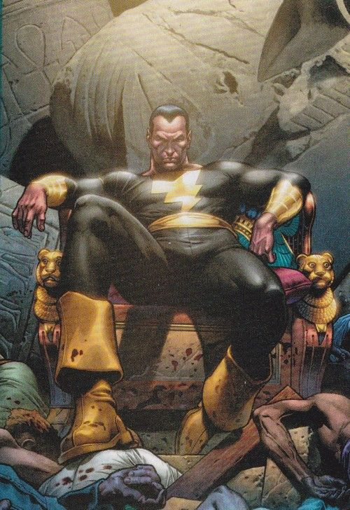 Black Adam's Throne