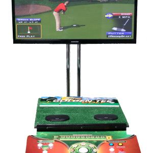 2014 Golden Tee Golf Game with 50-in Screen