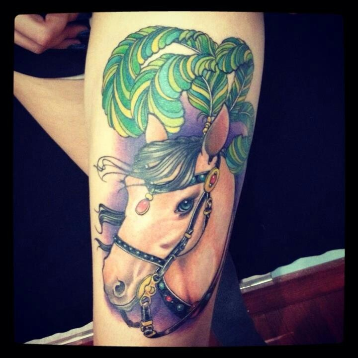 Horse Tattoos Love Pictures to Pin on Pinterest - TattoosKid Paint Horse Tattoos