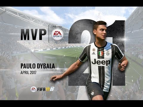 Paulo Dybala, April MVP powered by EA! - YouTube