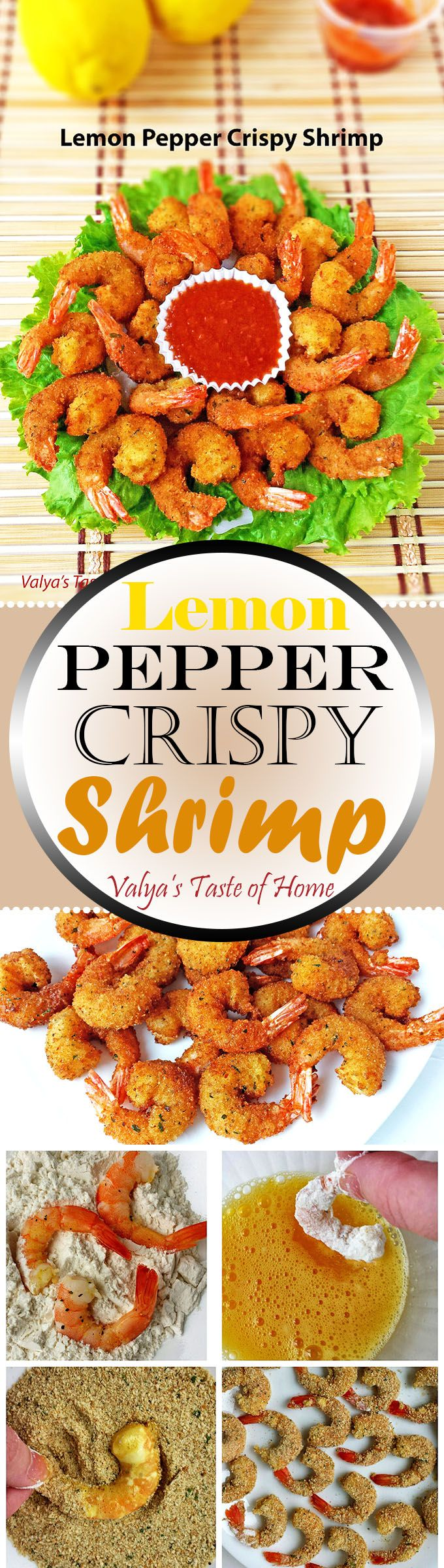 These shrimps are so easy to prepare, but they taste so delicious. It can be a perfect appetizer or side dish. Crunchy, very juicy and so tasty your family will be surprised.
