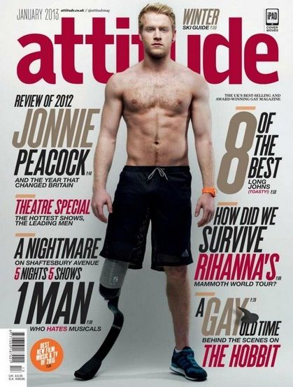 Jonnie Peacock is a British sprint runner who competed in the 2012 Summer Paralympics. He won gold in th T44 100-meters event, beating his i...