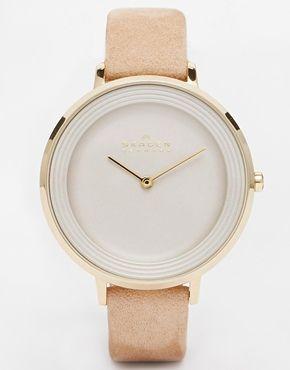 Enlarge Skagen Ditte Refined Brown Watch