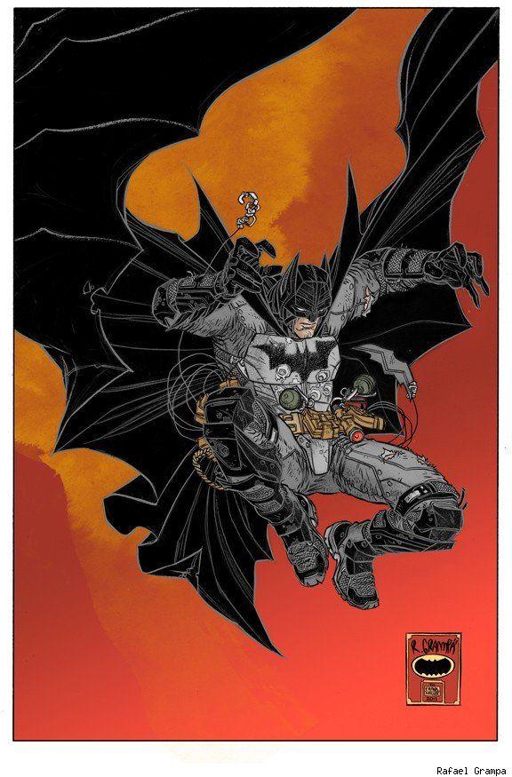Increíble animación de batman