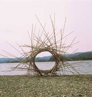 Andy Goldsworthy Makes Permanent Sculptures Out Of Natural Materials