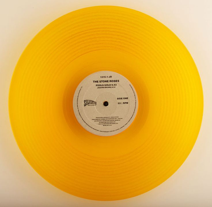 The Stone Roses – Fool's Gold gold/orange/yellow vinyl