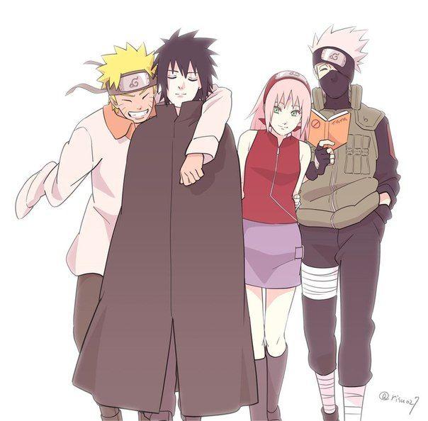 Naruto team 7