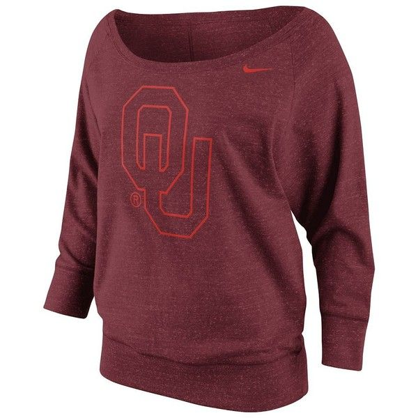 Nike Oklahoma Sooners Sweatshirt - Women's ($70) found on Polyvore
