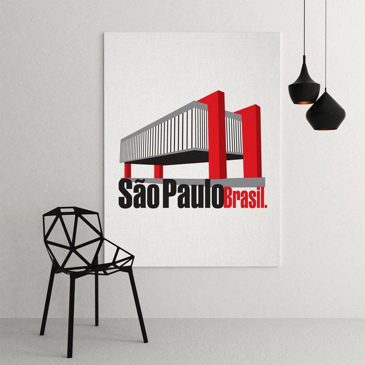 Série limitada - São Paulo. Nous Design #graphicdesign #nousdesign #graphicart #pablonous