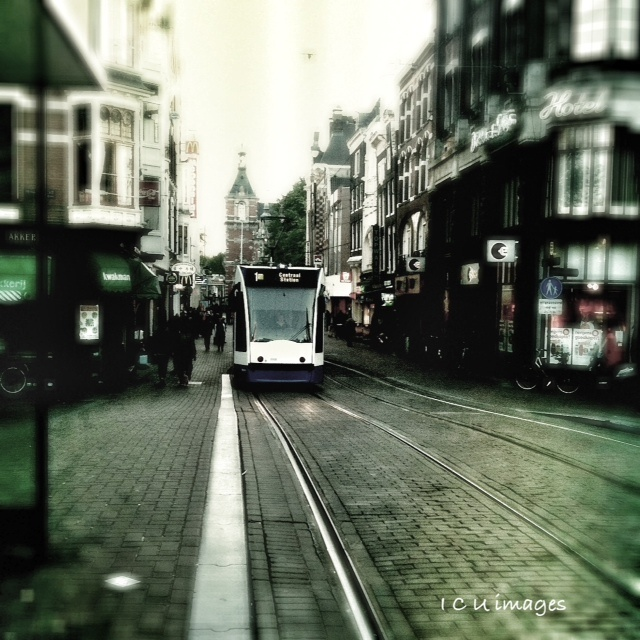 Your a tram - Amsterdam