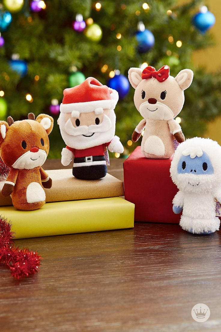 HALLMARK ITTY BITTYS: Just in time for Christmas, Rudolph®, Bumble®, Santa and Clarice® itty bittys®. For each one your buy, we'll donate $1 to Toys for Tots. (Rudolph collector set not included). See how these pint-sized collectibles were created, and check out all of the itty bittys® offers on Hallmark.com.