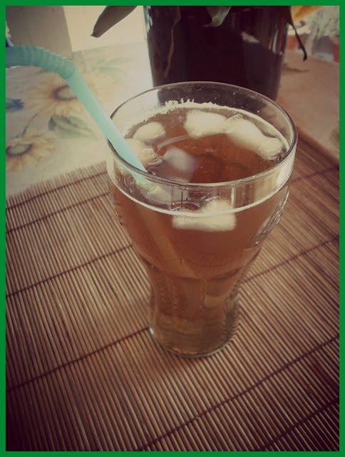 La dispensa del dietista: tè freddo fatto in casa (home made ice tea)