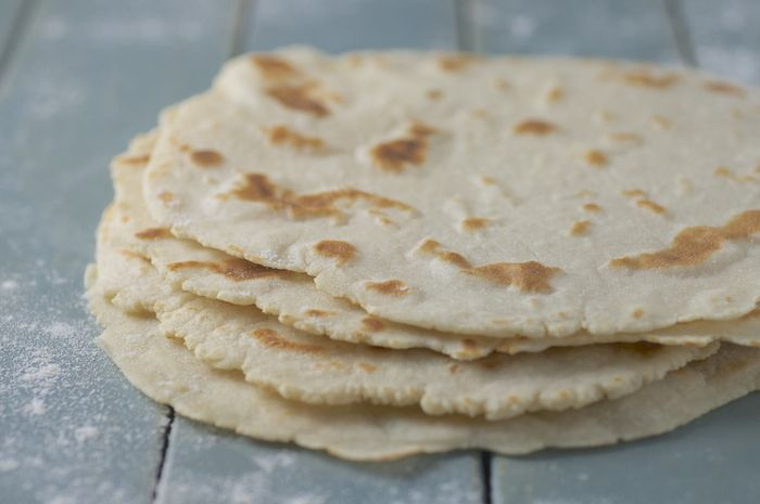 Fat-Free Gluten-Free Tortillas - Feasting on Fruit - brown rice