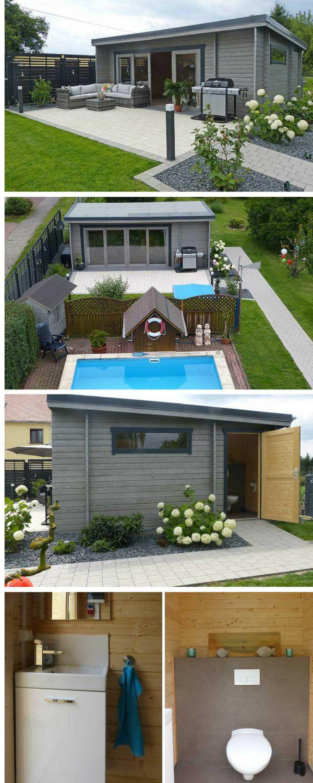 Mit dem Gartenhaus Java-44 ISO hat sich Familie Müller ein wunderschönes Außenwohnzimmer in trendigen Grautönen erschaffen. In unserem Magazin zeigen wir wie das moderne Pultdach-Gartenhaus entsteht: Schritt für Schritt vom Fundament bis zur kompletten Wohlfühloase.