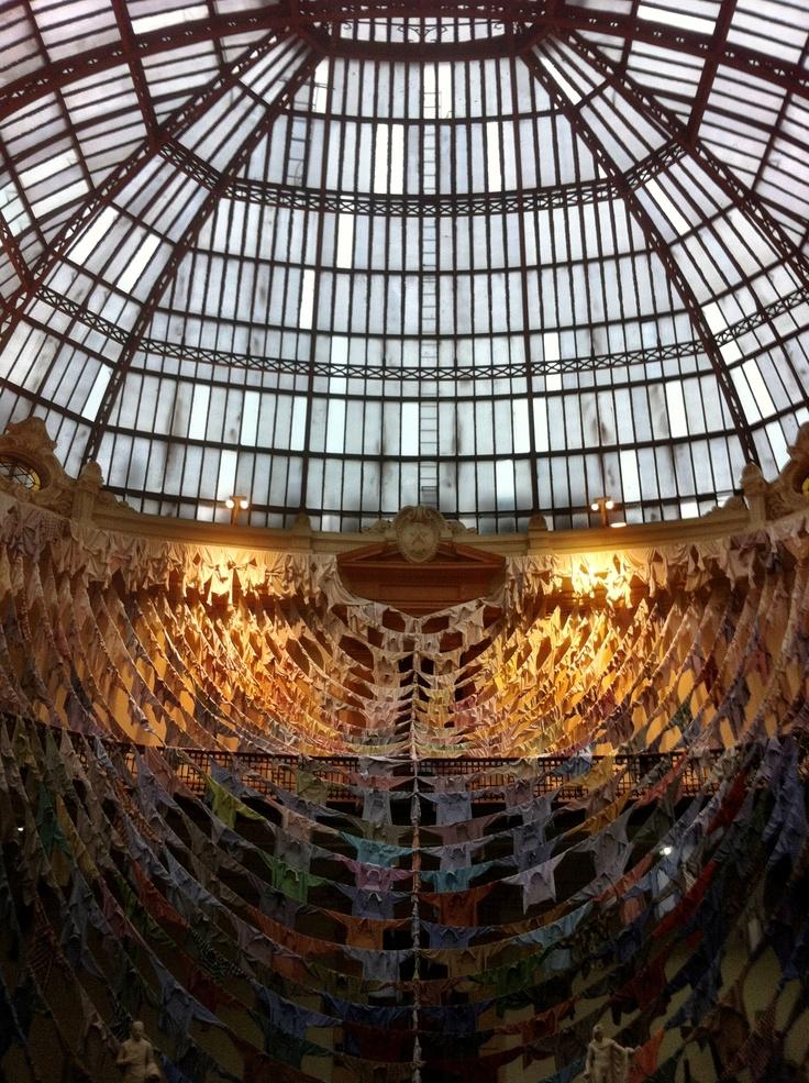 Kaarina Kaikkonen Mueseo de Bellas Artes, mayo, Santiago de Chile