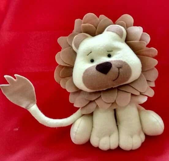 Leão feltro