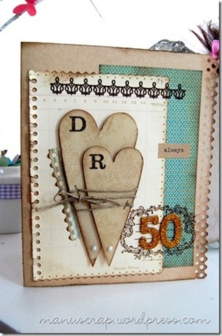 Anniversary card for grandparents 50th