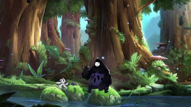 Gry Wideo Ori And The Blind Forest  Tapeta