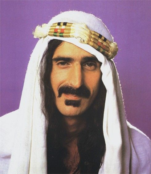Frank Zappa - Secular humanist - composer, singer-songwriter, guitarist, recording engineer, music producer and film director - composed rock, jazz, orchestral and musique concrète works
