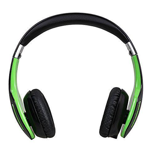 AUSDOM M07 Mode Faltbare Enhanced-Bass Bluetooth Wired Stereo Bügelkopfhörer On-Ohr-Kopfhörer mit Headset Funktionalität (Schwarz mit Grün) AUSDOM http://www.amazon.de/dp/B00ZP2U4LI/ref=cm_sw_r_pi_dp_SmU2vb051FP6E