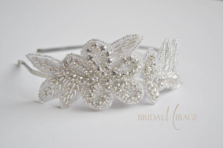 crystal headbands brides   kristály hajpánt menyasszonyoknak