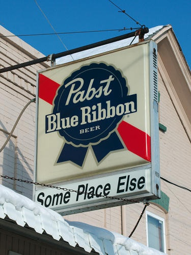 What'll you have? A PBR Some Place Else... in Green Bay, WI.