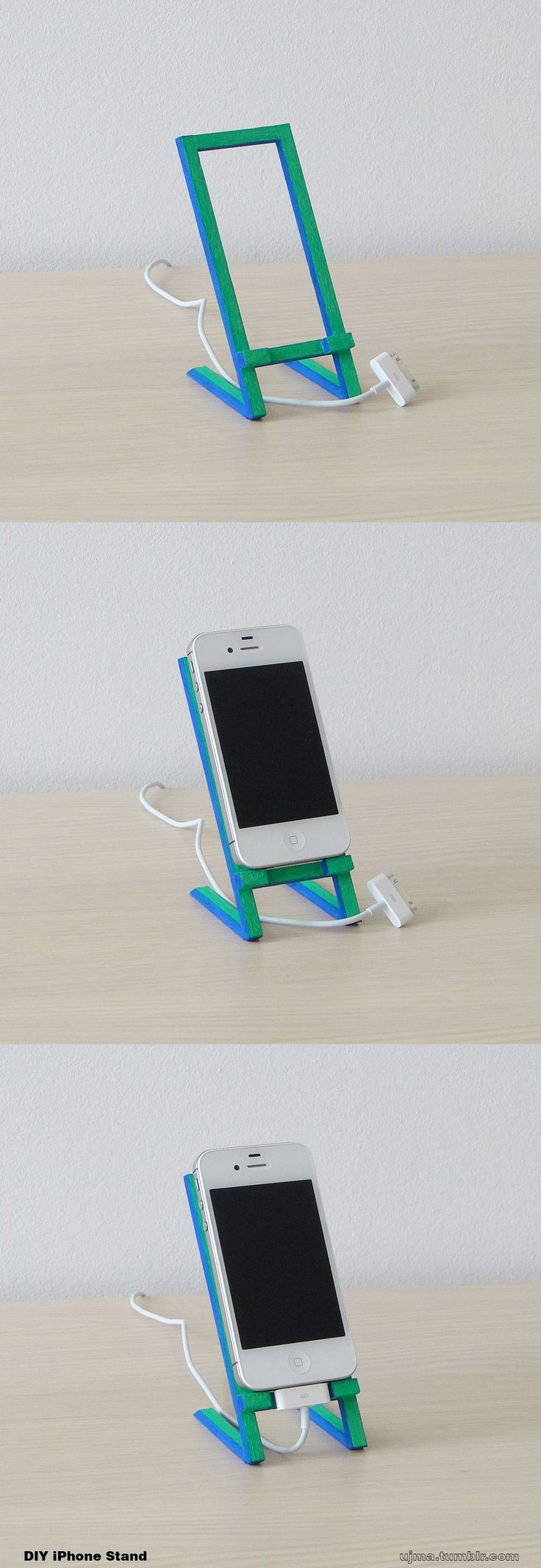 http://teds-woodworking.digimkts.com/ DYI is the best dyi woodworking signs DIY iPhone Stand made of wood.