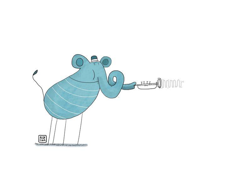 """Música para imaginar. Por: Blue el elefante  """"Quien dice que un elefante azul no puede interpretar la trompeta como el gran louis armstrong.""""  Se cierra el telon rojo lentamente después de haber visto una gran actuación de fondo suena una suave y pegajosa pieza de jazz,blues y soul interpretada por Blue el elefante azul.  Solo cierra tus ojos y escucha..."""