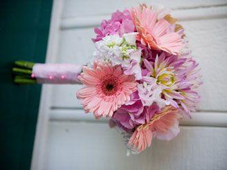 Bouquet en Tonos Rosados -- Fotografía: Soiree Floral