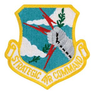 Strategic Air Command USAF Patch