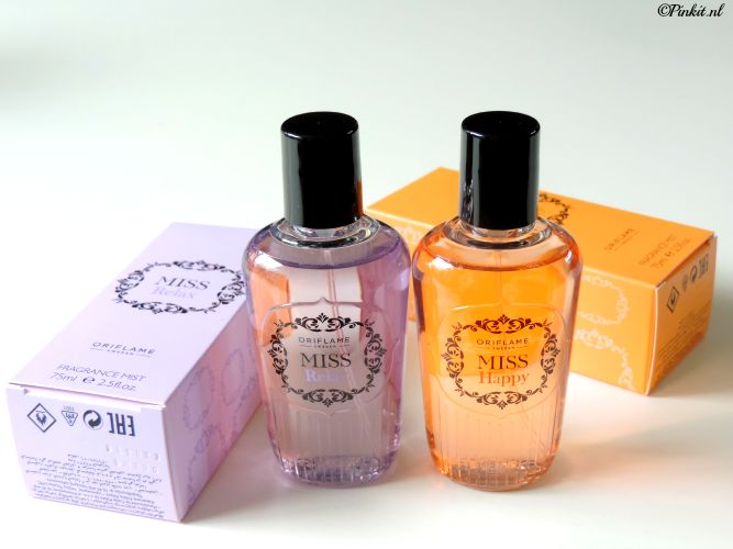 oriflame miss happy + miss relax