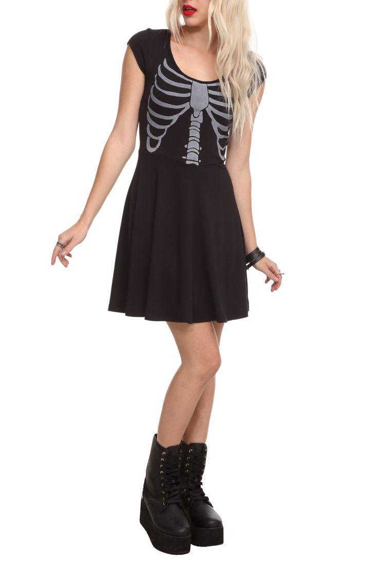 Teenage Runaway Rib Cage Dress.  Get in my closet now.