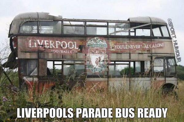 Fani FC Liverpoolu mogą już podziwiać autobus przeznaczony do parady po sezonie w Premier League • Zobacz pojazd do świętowania >> #liverpool #football #soccer #sports #pilkanozna #funny
