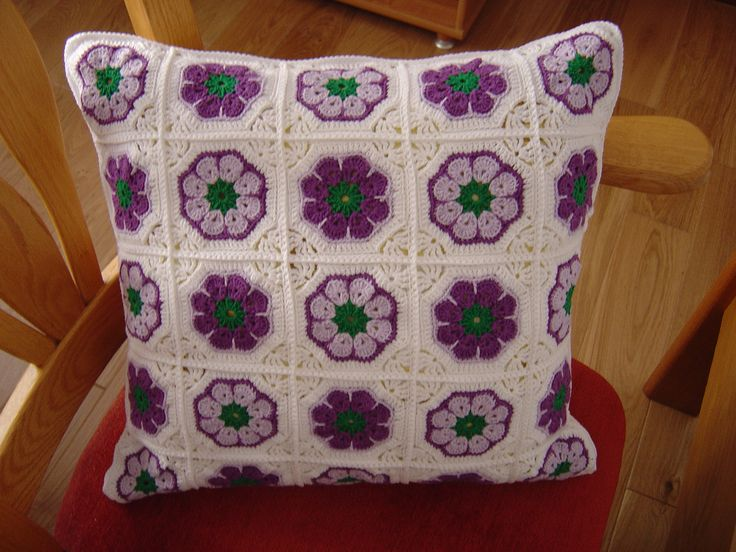 cushion (african flower)
