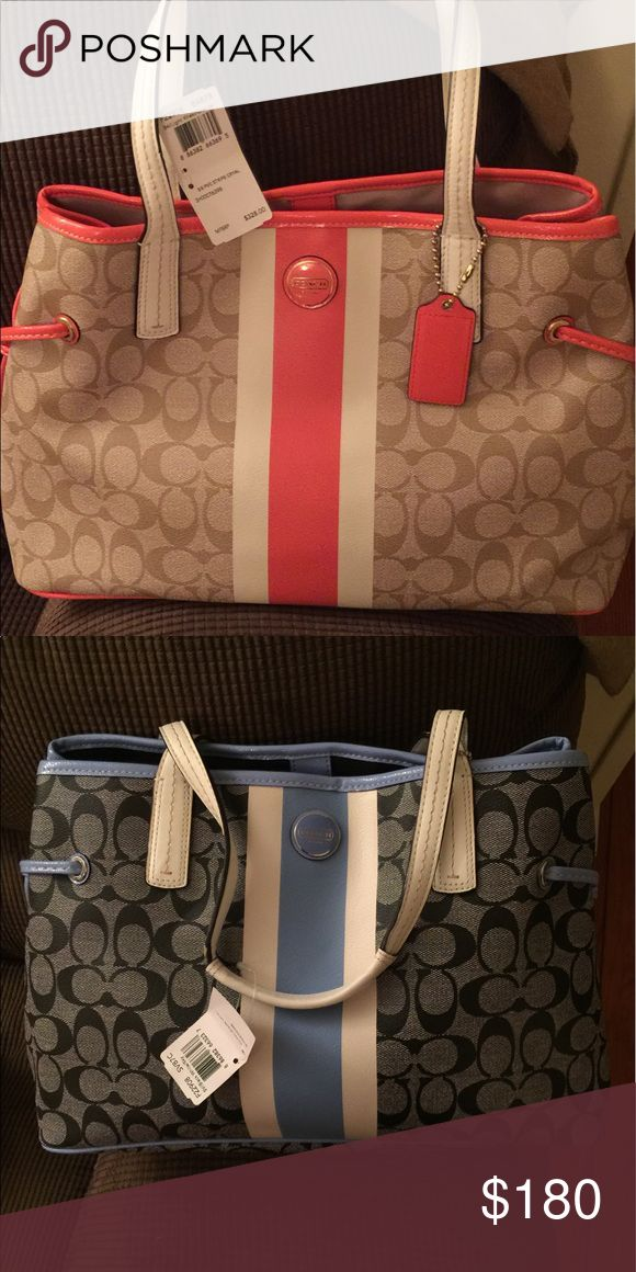 coach pocketbooks outlet 5buc  Coach Handbags 2 brand new coach hand bags, never used New with tags $180