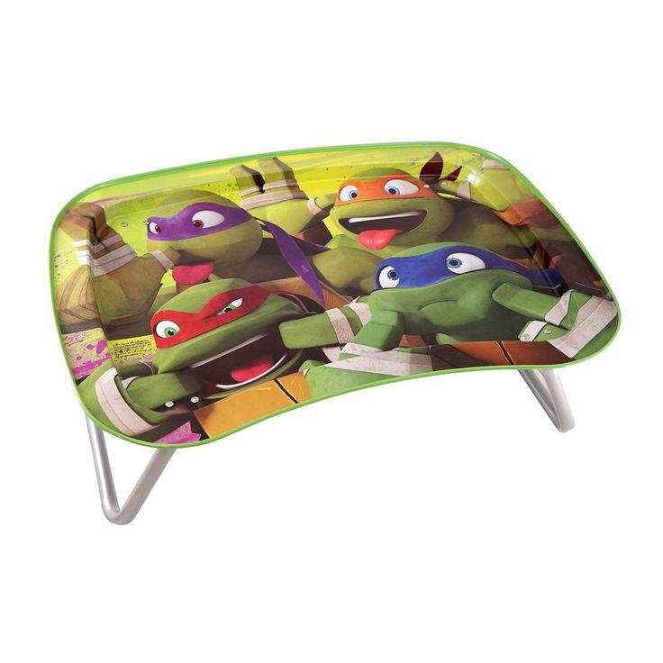 Kids Teenage Mutant Ninja Turtle Snack & Play Tray, Multicolor